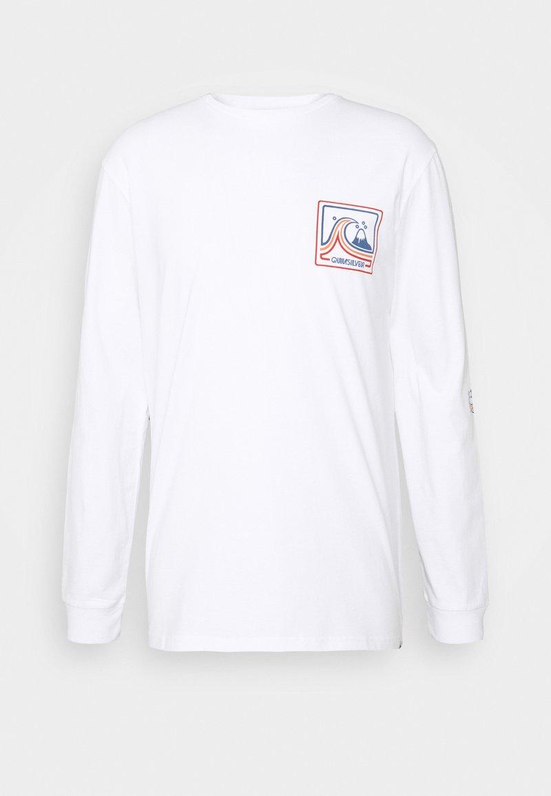 Quiksilver - HIGHWAY VAGABOND - Maglietta a manica lunga - white