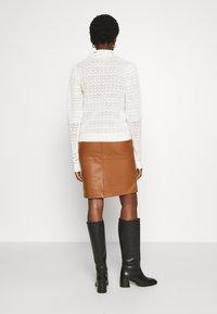 Vila - VIPEN NEW SKIRT - Pencil skirt - oak brown - 2