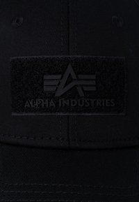 Alpha Industries - Cap - schwarz