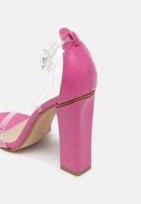 BEBO - PHOEBE - High heeled sandals - clear - 5