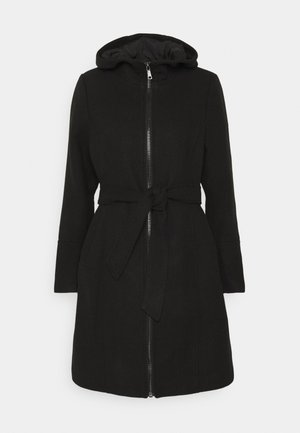 OBJKARIN JACKET - Classic coat - black