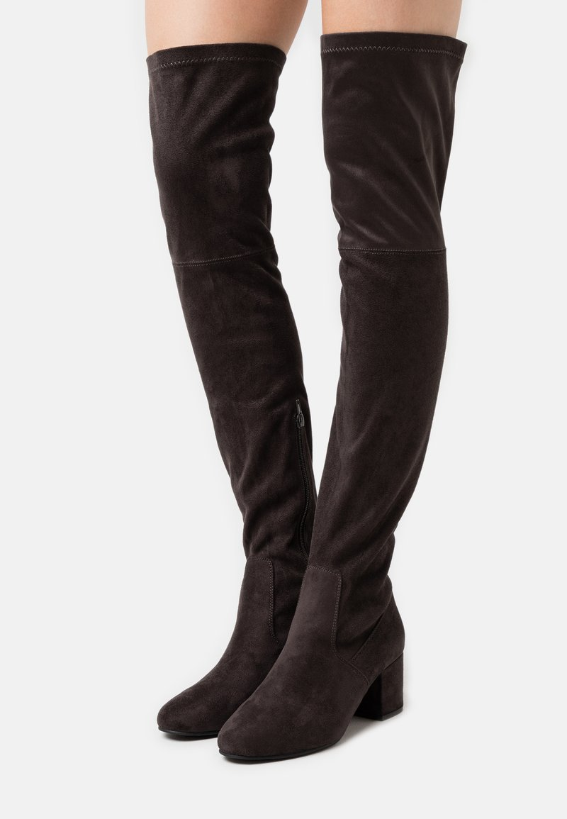 Anna Field - Over-the-knee boots - dark grey