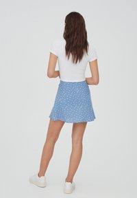 PULL&BEAR - A-line skirt - dark grey - 2