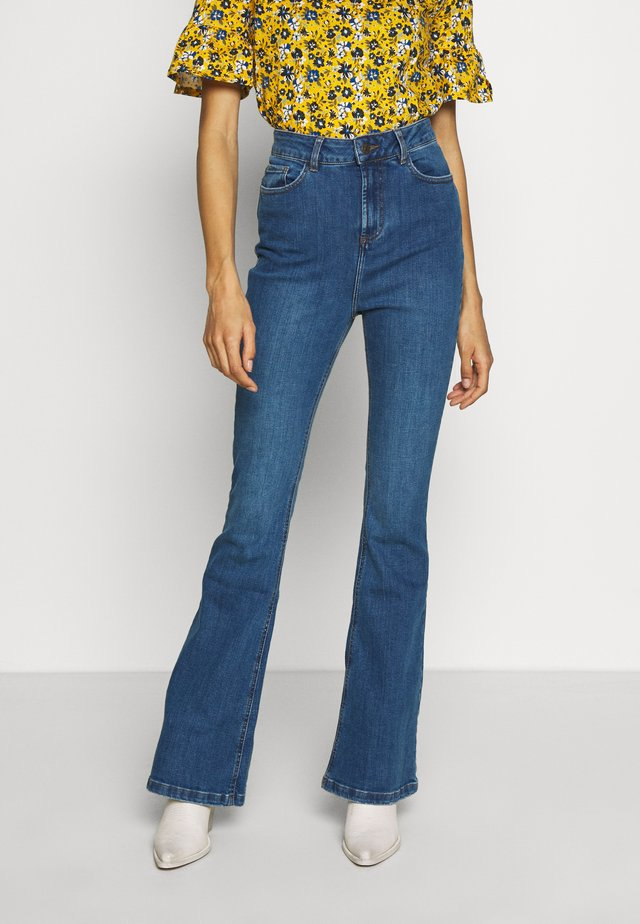 JEANNOT - Jeans Bootcut - stone