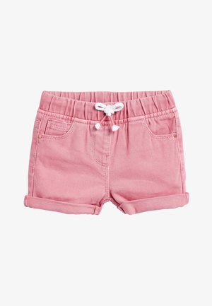 Denim shorts - pink
