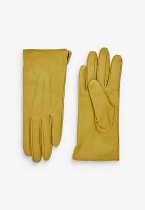 Gloves - yellow