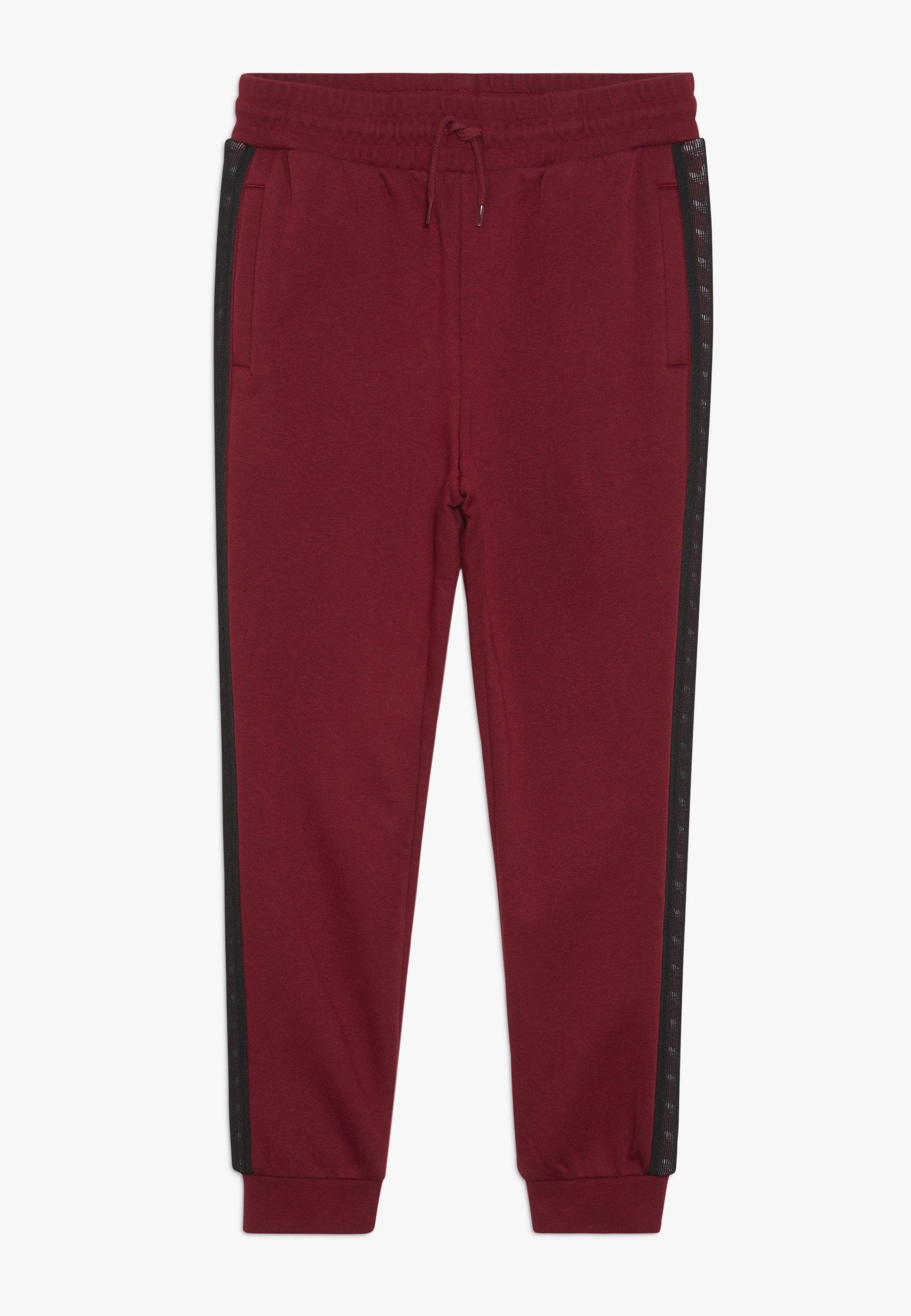 Tanto Sorpassare Parecchi  adidas Originals TAPE PANTS - Tracksuit bottoms - bordeaux - Zalando.co.uk