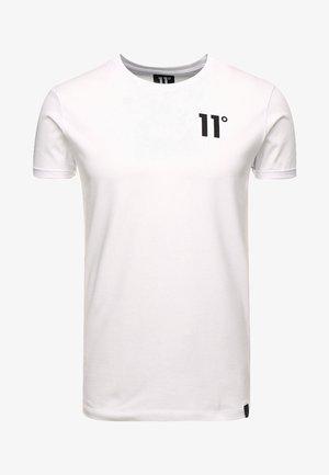 CORE MUSCLE FIT - Camiseta estampada - white