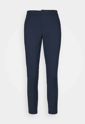 VMVICTORIA ANTIFIT ANKLE PANTS  - Trousers - navy