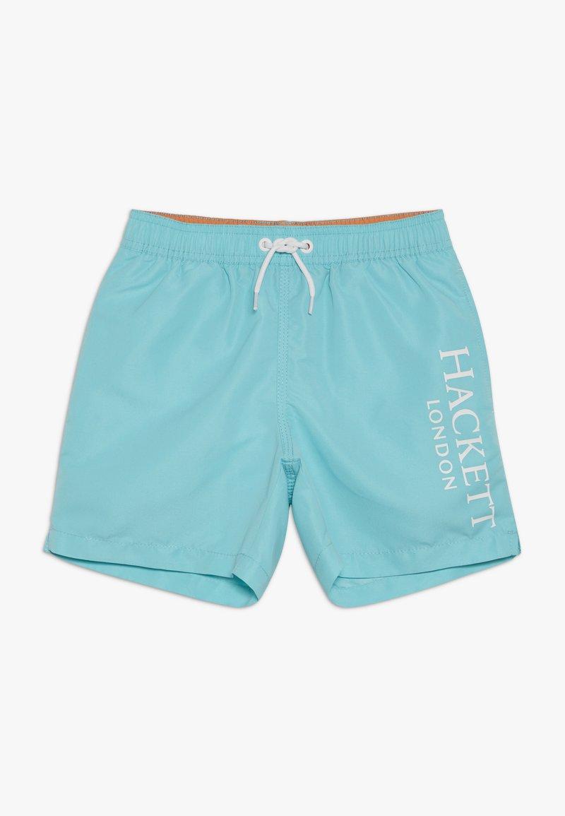 Hackett London - LOGO VOLLEY - Plavky - turquoise