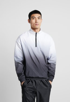 GRADIENT PULL OVER JACKET - Training jacket - black/white