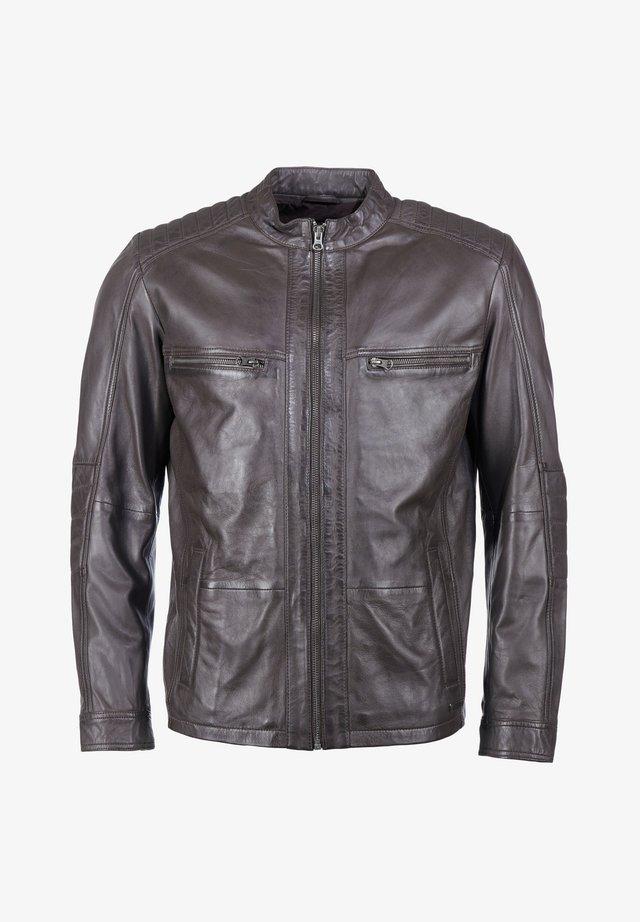 FABIANO - Leren jas - brown