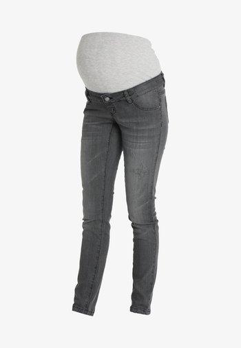 MLJULIA WASHED - Slim fit jeans - medium grey denim