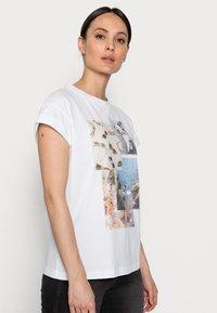 Rich & Royal - Print T-shirt - white - 3