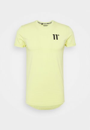 MUSCLE FIT - Print T-shirt - canary yellow