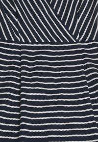 Betty & Co - Jersey dress - blue/cream - 2