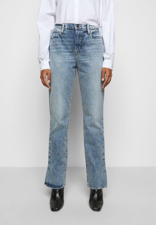 LE DREW - Slim fit jeans - cascade blue