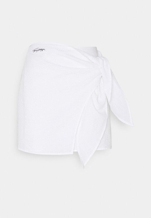 BEACH CLUB PREP SKIRT - A-line skjørt - classic white