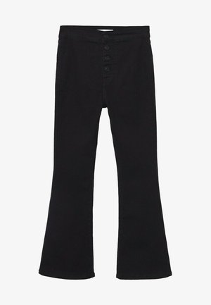 JEGGINGT - Široké džíny - black