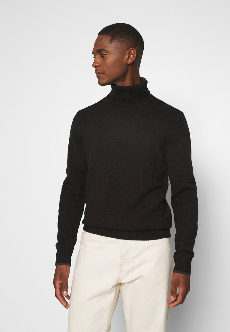 Petrol Industries - Stickad tröja - black