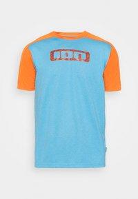TEE TRAZE - T-shirt imprimé - inside blue