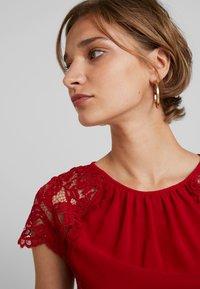 TFNC - PEARLY MAXI - Společenské šaty - burgundy - 4