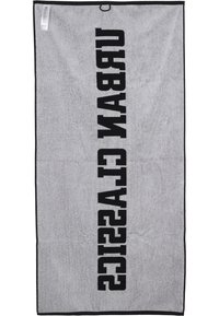 Urban Classics - 2-TONE - Beach towel - black/white - 1