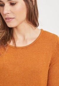 Vila - VIRIL DRESS - Jumper dress - cathay spice - 3