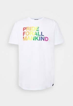 GRAPHIC TEE FOR PRIDE - Triko s potiskem - white