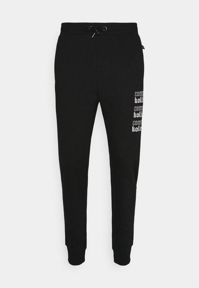 GOTHIC JOGGERS UNISEX - Pantaloni sportivi - black