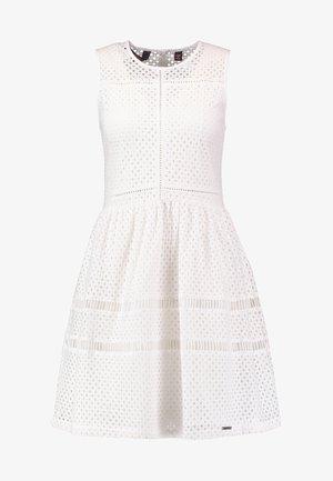 Day dress - optic white