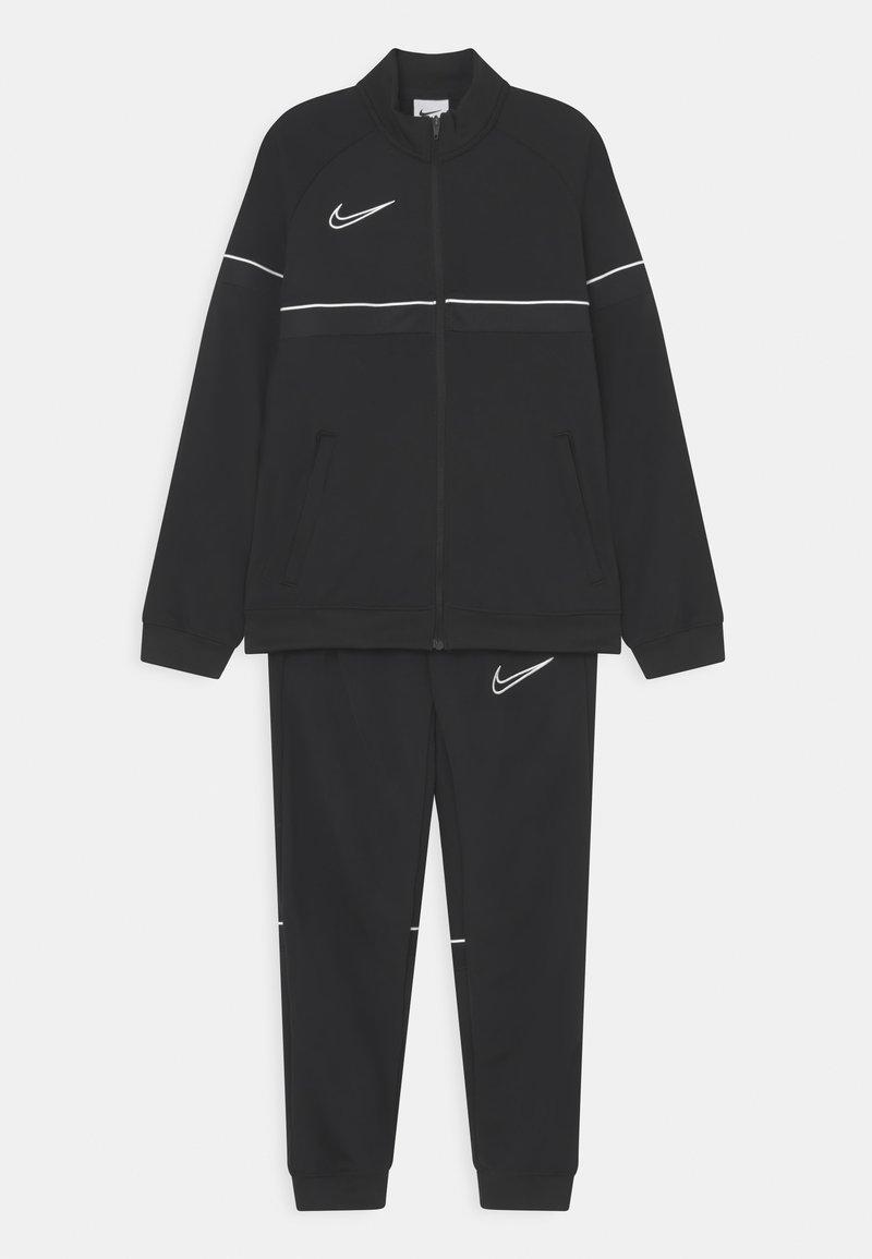 Nike Performance - ACADEMY SET UNISEX - Trainingspak - black/white
