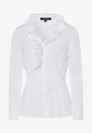 Button-down blouse - weiãŸ