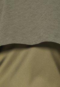 AllSaints - BENNO TEE DRESS SET - Long sleeved top - pale olive - 7