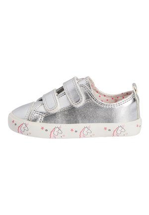 SILVER TOUCH FASTENING TRAINERS (YOUNGER) - Sneaker low - silver
