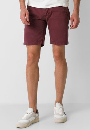 Shorts - burgundy