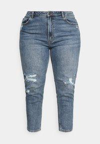 ONLY Carmakoma - CARMILY MOM ANKEL - Jeans Tapered Fit - medium blue denim - 3