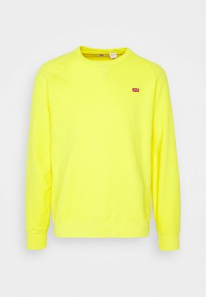 ORIGINAL ICON CREW UNISEX - Sudadera - yellow
