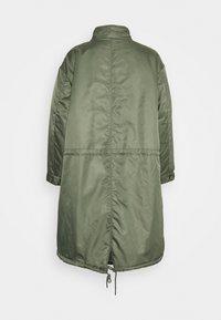 American Vintage - AKOCITY - Parka - mottled green - 2