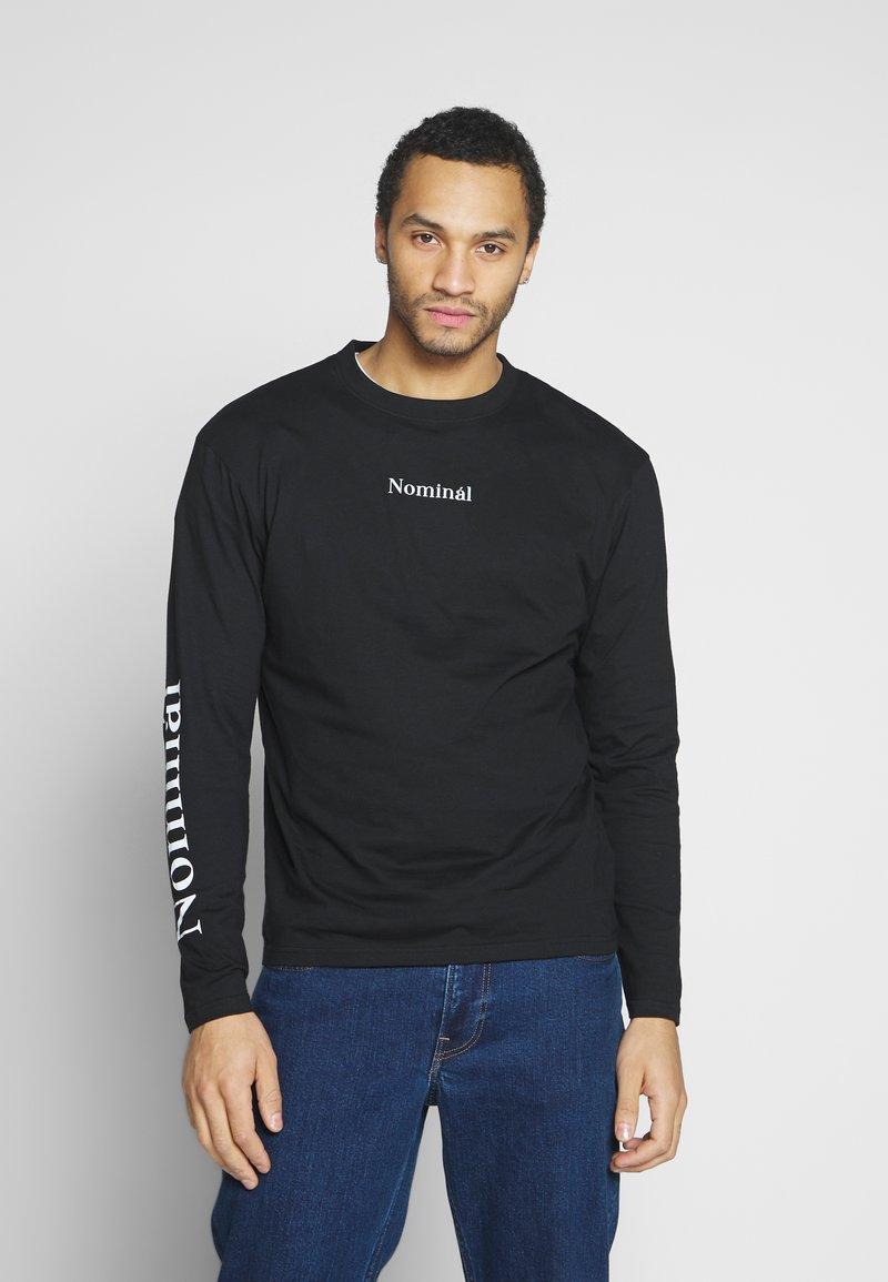 Nominal - REGRETS - Maglietta a manica lunga - black