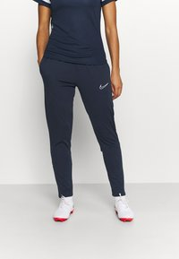 Nike Performance - PANT - Tracksuit bottoms - obsidian/white - 0