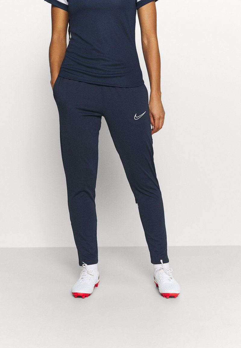 Nike Performance - PANT - Tracksuit bottoms - obsidian/white