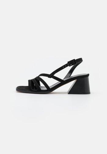 VEGAN HIPPY - Sandals - black
