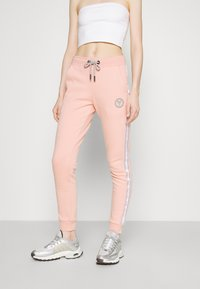 Carlo Colucci - BASIC PANT - Teplákové kalhoty - rosé - 0