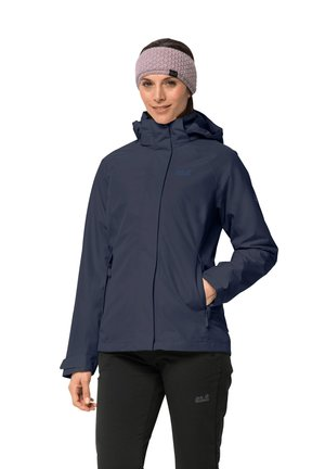 ICELAND VOYAGE - Hardshell jacket - midnight blue