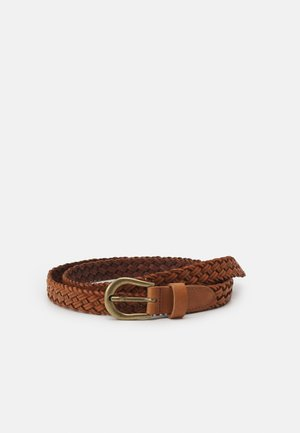 ONLHANNA CAR BRAIDED - Belt - cognac