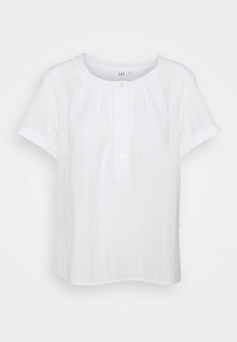 GAP Petite - ROLL - Blouse - optic white