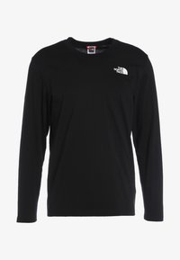 The North Face - MENS EASY TEE - Langarmshirt - black - 4