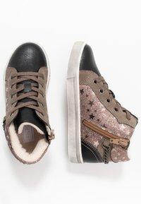 Friboo - Sneakersy wysokie - dark gray - 0