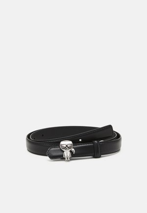 IKONIK PIN BELT - Cinturón - black